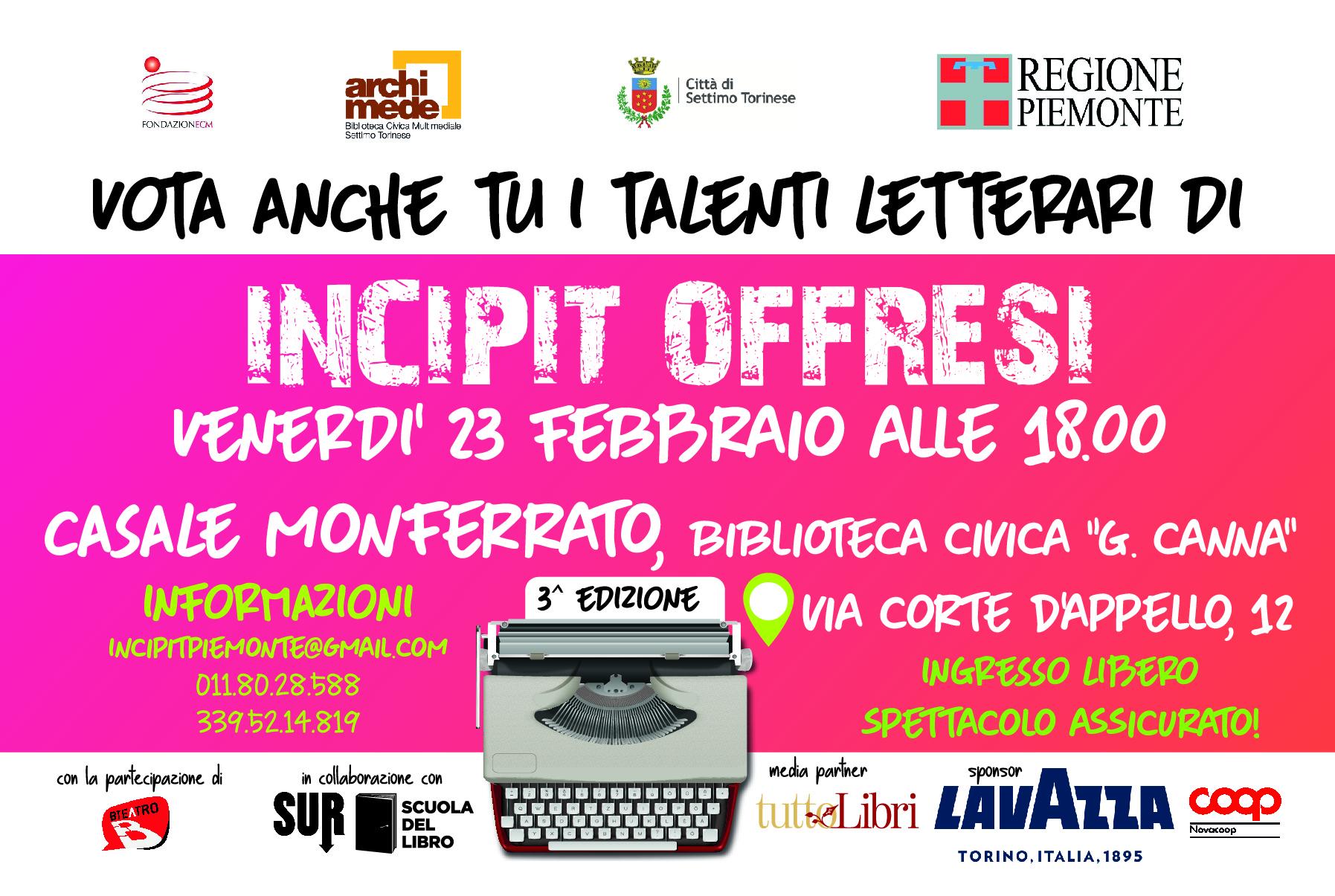 incipt @ Casale Monferrato