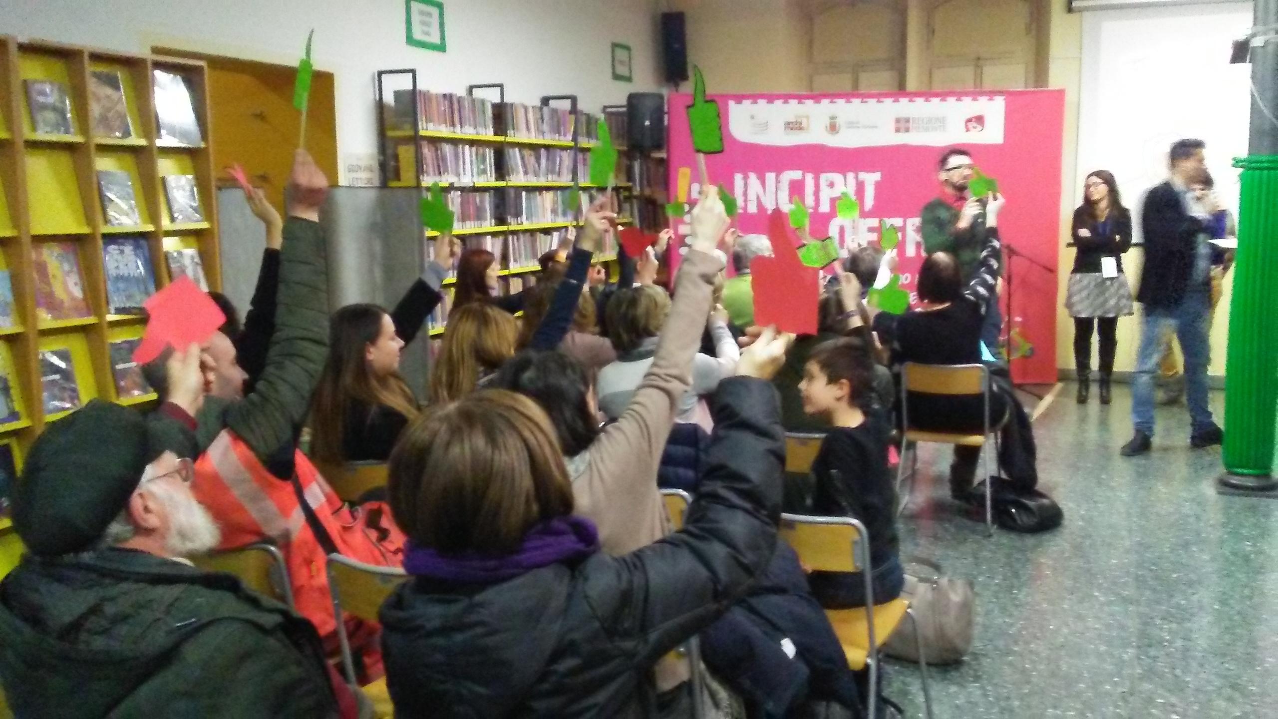 Incipit @ Biblioteca Civica di Collegno, 7 febbraio 2019